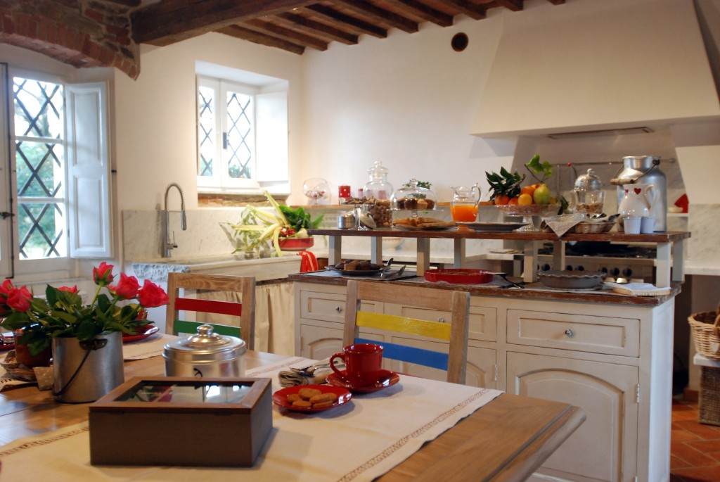 Agriturismo in versilia il Carratore - la cucina